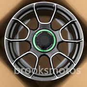 20 New Green Style Gray Forged Wheels Rims Fit 2013+ Porsche Cayman 981