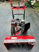 Craftsman 9 Hp 28 Inch Dual Stage Snow Blower - New Condition Fully Serviced