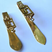 18k Gold Chatelaine Clavier French 19th Century 1838 Louis-philippe 1st Reign