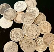 Barber Dimes 1892-1916 - 90 Silver - Good Or Better - Choose How Many