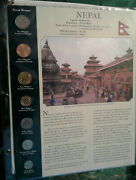 Coins From Around The World Nepal 1996 - 2001 Bu Unc 10, 5 Rupees 1997 2 Rp 2001