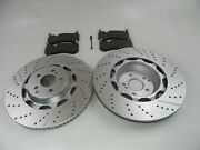 Mercedes S63 S65 Amg Front Brake Pads And Rotors Topeuro 662