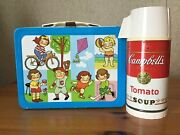 Vintage Campbell Soup Kids Lunchbox And Thermos