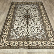 5and039x8and039 Handmade Silk Area Rugs Indoor Living Room Traditional Carpets 021b