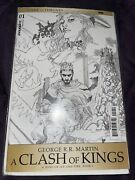 Game Of Thrones A Clash Of Kings 1 110 Variant Cover Dynamite Nm Comics Book