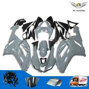 Injection Cement Gray Abs Fairings Fit For Kawasaki 2007 2008 Zx6r 636c A059
