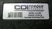 Cdi 751ldin Torque Wrench A Snap-on Company 0-75 In.lb.