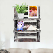 Wall Mounted Floating Shelves Interior Decoration Home/office Storage Rack 17👏