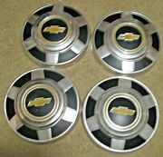 Vintage Chevy Truck Hub Caps 4 Chevrolet 12 Wheel Covers Must See