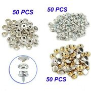 10mm/3/8 Inch Snap Button Fastener Screw Studs Kit For Canvas Tent Canopy