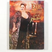 Etta James Live At Montreux 1993 Dvd, 2012 Concert Free Shipping