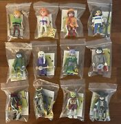 Playmobil Scooby-doo Mystery Figures Series 2 Complete Set Of 12 Ghosts+poster