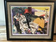 James Denmark Andldquowhen Love Is Youngandrdquo Framed Andmatted Lithograph Signed 88/350