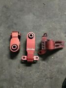 3 Used Boomba Racing Honda Si Motor Mounts Red For 2006-11 Civic Si 07 08 09 10