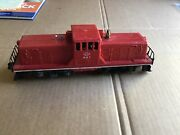 Lionel 627 Lehigh Valley Center Cab Diesel Switcher, 1956/57. Runs And Cycles.