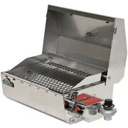 Springfield Boat Bbq Grill 1940060 | Propane Rail Mount Stainless