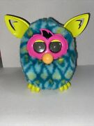 Furby Boom Peacock Hasbro Toy Pet Teal Blue Green 2012 Tested And Working
