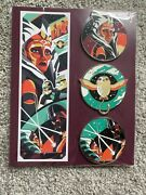 Star Wars Ahsoka Tano Officially Licensed 3 Pin Set Limited Edition 100