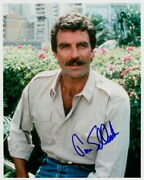 Tom Selleck Magnum, P.i. Signed In-person 8x10 Photo
