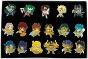 F/s Saint Seiya Pin Badge Collection Cased Japan Anime Limited Rare From Japan