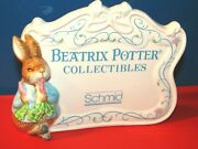 1987 Beatrix Potter Collectibles Advertising Display Sign-made By Schmid