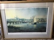 Paul Mcgehee Old Georgetown On The Potomac Signed Print W/ Remarque 975/2000