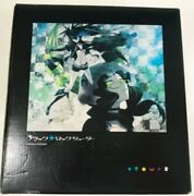 Used Black Rock Shooter Blu-ray Box Limited Edition With Figma F/s Hi159