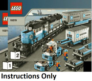 New Instructions Only Lego Maersk Train 10219 Books From Set