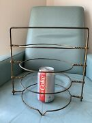 Antique/vintage Early Pie/plate Rack Or Holder In Original Paint/patina