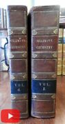 Elements Of Chemistry 1831 Benjamin Silliman Yale College Lectures 2 Vol. Set