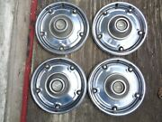 1969 1970 1971 1972 Chevy Truck Deluxe Lug Nut Style 15 Hubcaps Set Of 4 Cst
