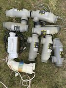 Salt Cell Lot 8 / 5 Jandy Plc1400 1 Pentair Ic40 2 Hayward, Tcell15 And Tcell940