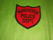 Manchester New Hampshire Police Patch - Vintage 1960's