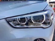 Full Led Front Lamps For Bmw X1 Led Strip Angel Eyes Head Lights 2016 Year Ld
