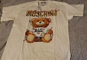 Nwt Moschino Teddy Christmas Lights Limited Campaign 2018 White Xl100authentic