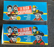 The High Chaparral Gum Card Counter Box + Empty Wrappers