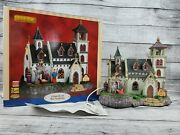 Lemax Christmas Village Church Of The Nativity Animated Musical W/ Crosses