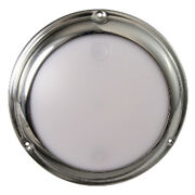 Lumitec Touchdome - Dome Light - Polished Ss Finish - 2-color White/blue Dimm...