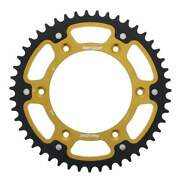 Supersprox Stealth Gold Rear Sprocket With 47 Teeth For Ktm Exc 520 2000-2002