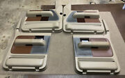 04-08 Ford F-150 King Ranch Front And Rear Side Oem Door Panels Crew Cab