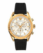Mens Ion Plated Yellow Gold Versace Watches V-chrono Vehb00219