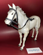 Vtg 1973 The Lone Ranger Action Figure Horse Silver Incomplete 70's Collectible