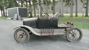 Model T Ford - 1921 Touring Car With Cut Off Rear Seat Make A Pick Up Truck