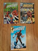 Daredevil Mixed Grade Lot - Lower To Middle Grade - 146, 174, 200