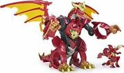 Bakugan Dragonoid Infinity Transforming Figure With Exclusive Fused Ultra And...