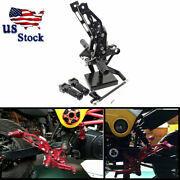 Fxcnc Motorcycle Footpegs Rearsets Rear Set For Honda Grom Msx125 2012-2015 Usa