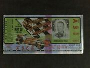 1959 Indianapolis 500 Motor Speedway Original Official Illustrated Ticket With T