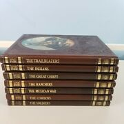 Time Life The Old West Series Lot Of 7 Books Ranchers Chiefs Trail Cowboys