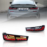 Led Tail Lights For Bmw 3 Series G20 2019-2021 Dark/red Assembly Rear Light