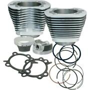 Sands Cycle 97in. Big Bore Kit For 88in. Motors - Silver Powder-coat - 910-0201